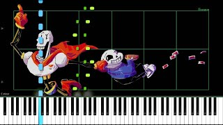 Undertale // Nyeh Heh Heh! & Bonetrousle // Duet Piano OST 16 & 24