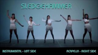 Fifth Harmony - Sledgehammer - Acapella and Instrumental (Use earphones)