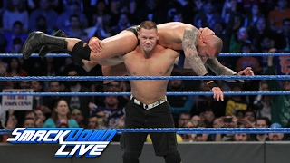 John Cena vs. Randy Orton: SmackDown LIVE, Feb. 7, 2017