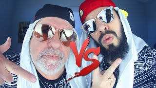 Mussoumano VS. MussouPai | Batalha de Rap (beat: Dj Caique)