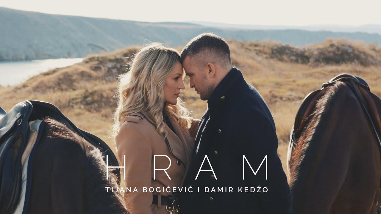 <i>Hram</i>, la rítmica balada que triunfa en los Balcanes de la mano de la serbia Tijana Bogicevic y el croata Damir Kedzo
