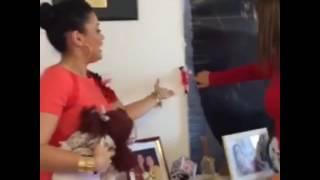 Milene Pavoro visita a casa da Mara Maravilha