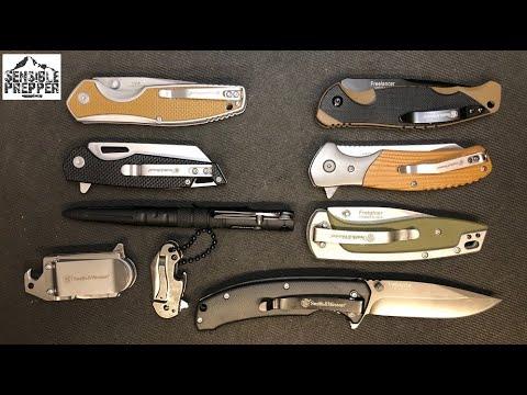 S&W Folding Knife Line up:  Reasonably Price EDC Knives