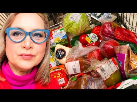 Какие продукты купила Сколько потратила Что продают в российских супермаркетах Цены на продукты Vlog