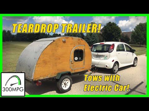 Teardrop Trailer Tour - DIY Camping Trailer