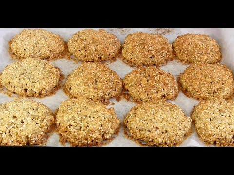 НОВОЕ Хрустящее Овсяное Печенье с семечками!Просто Вкусно