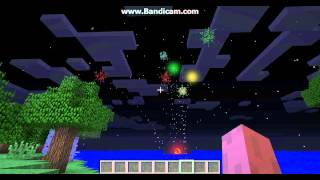 Fogo de artificio Minecraft 1.4.5 com SOM