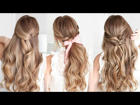 3 Easy Holiday Hairstyles   Missy Sue
