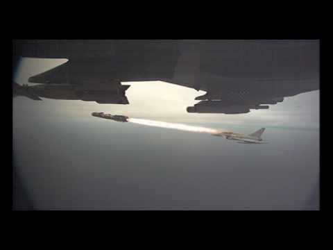 Live firings of Brimstone missile from Eurofighter Typhoon