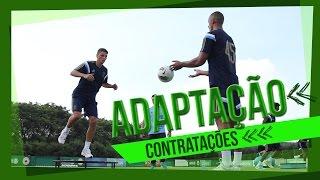 Reforços comentam primeiros dias de treino no Palmeiras
