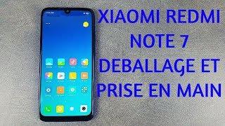 Vidéo-Test : Xiaomi Redmi Note 7 Déballage et prise en main