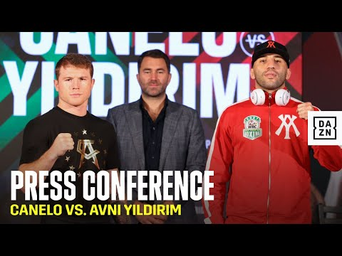Canelo vs. Yildirim Final Press Conference