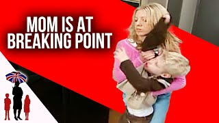 "6-year-old with ADHD says he wants to ""kill myself with a knife""..Supernanny USA"