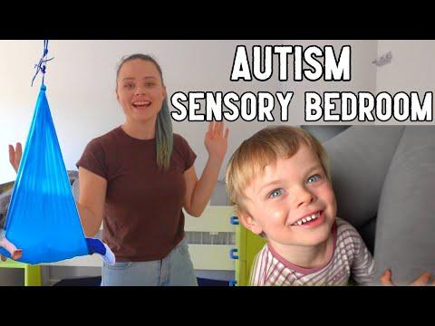 Sensory Bedroom Tour *SENSORY SEEKER* | Aussie Autism Family