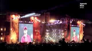 Indio Solari - Comienzo del show Olavarria 2017 - Agencia Rock