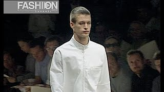 CALVIN KLEIN Menswear Spring Summer 2000 New York - Fashion Channel
