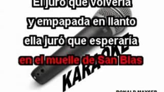 EN EL MUELLE DE SAN BLAS   MONCHY Y ALEXANDRA   KARAOKE
