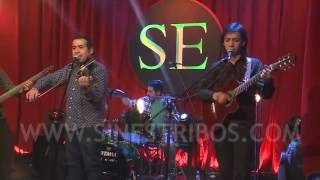 Migui Cáceres acompañando a Nestor Garnica - Guitarra de Salavina (en Sin Estribos 2015)