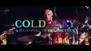 COLDPLAY A Head Full Of Dreams Tour Live in Taiwan