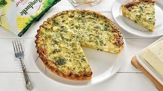 Tarta cu broccoli fara gluten (CC Eng Sub) | JamilaCuisine