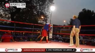 Felix Gonzalez vs. Eric Rodriguez Harrison Park Boxing Event Pilsen