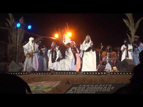 Tartit from Mali in Taragalte Festival 2012 – part 8, Mhamid Sahara Desert Morocco