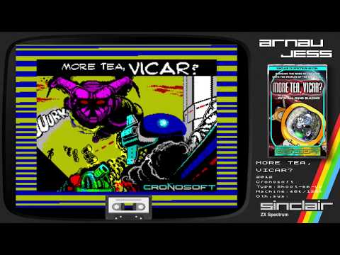 MORE TEA, VICAR? Zx Spectrum by Cronosoft