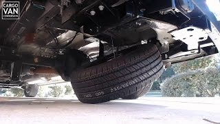 How To Release A Spare Tire In A Ford Transit
