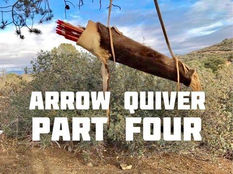 Otter Pelt Arrow Quiver (Part 4 of 4), Shooting Archery