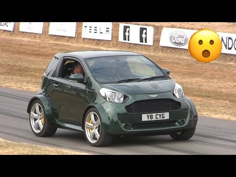 "They Fit a V8 in a Aston Martin Cygnet""! - Crazy Swap!"