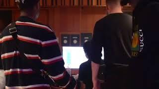 Xxxtentacion and PNB Rock in the studio SMASH