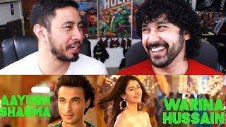 LOVERATRI Teaser Trailer Reaction | Salman Khan | Aayush Sharma | Warina Hussain | Abhiraj Minawala width=