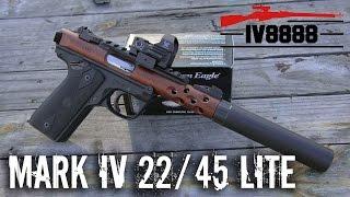 New Ruger Mark IV 22/45 Lite