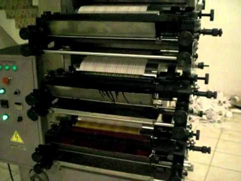 promak makina flekso baskı makinası  4 renk