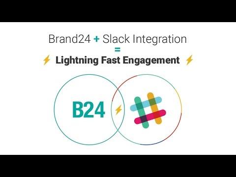 Slack Integration | Brand24 - social media monitoring tool