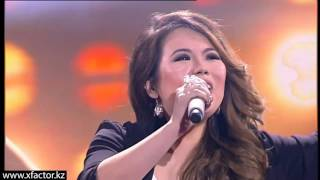 Айдана Риза. Jessie J - Thunder. X Factor Казахстан. Первый концерт. Эпизод 10. Сезон 6.
