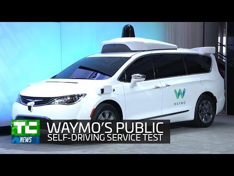 Waymo begins first public on-demand self-driving service test in Arizona