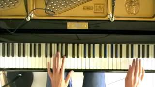 Hide And Seek Live Aid Intro   Howard Jones piano cover