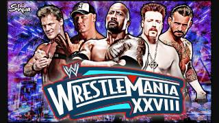 WrestleMania 28 1st Theme Song 'Invincible' With Arena Effects