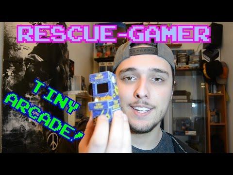 Rescue-Gamer: La recreativa mas pequeña del mundo || TinyArcade