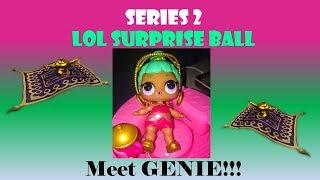 SERIES 2 LOL SURPRISE Big Sister BALL OPENING - MEET GENIE!!