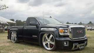 2015 Sierra dropped on 26/28 Intro Wheels! Team Billet! Wheels Are For Sale! (Burnout Inside!)