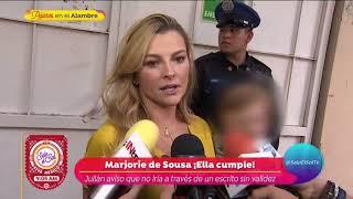¿Marjorie de Sousa le responde a Alicia Machado? | Sale el Sol