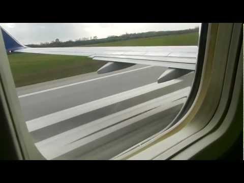Take Off Vienna Airport Runway 29 B737-800 SunExpress