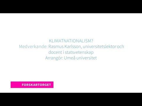 Forskartorget 2018 - Klimatnationalism?