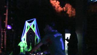 VJ SCP - MICRO CLIP - WORAKLS @ Soul Tech Green Edition -Playing Minubus