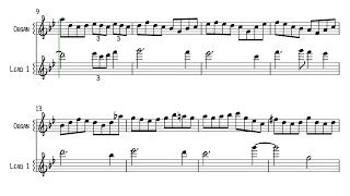 Burn - Deep Purple - Keyboard Solo Sheet Music