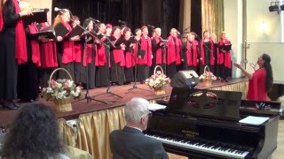 "Christina Morphova choir - ""Slavey mi pee""(""А nightingale sings"")"