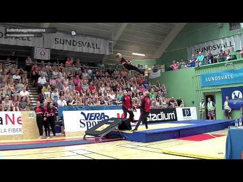 SM i Truppgymnastik 2015 - kval