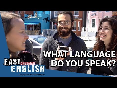 What language do you speak? | Easy English 33 photo